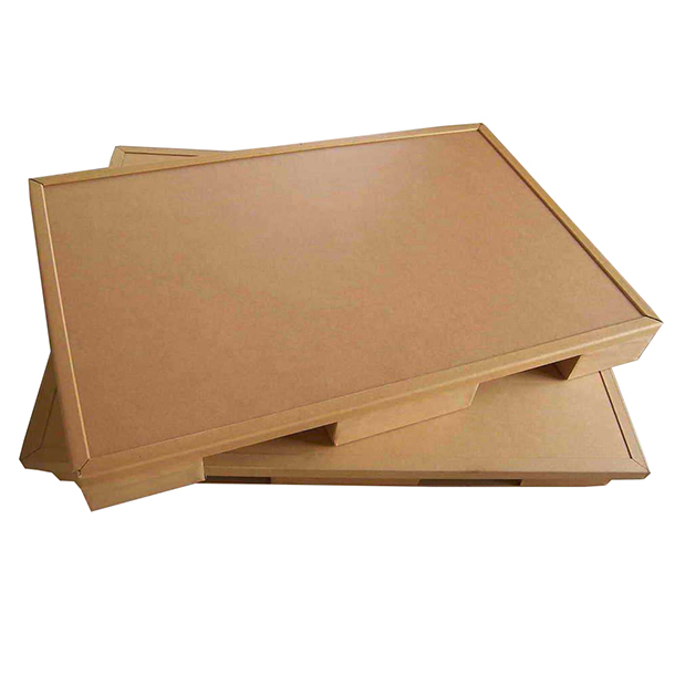 Standard size paper pallet for heavy carry