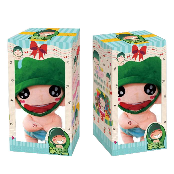 Fashion Design Doll Packaging Paper Box