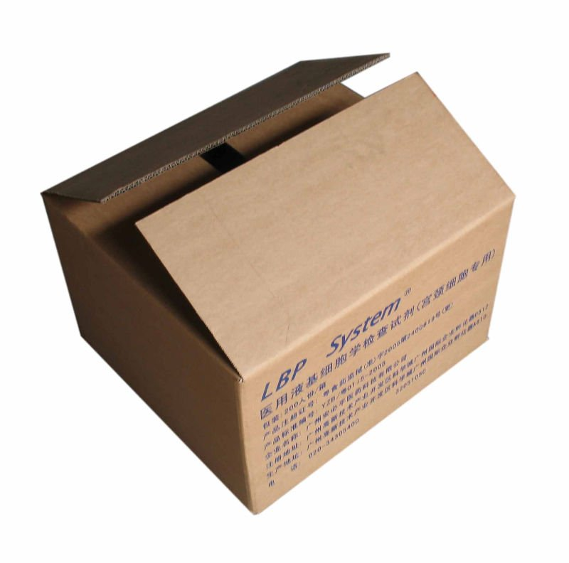 Black Logo Printing Cardboard Carton Computer Packaging Box