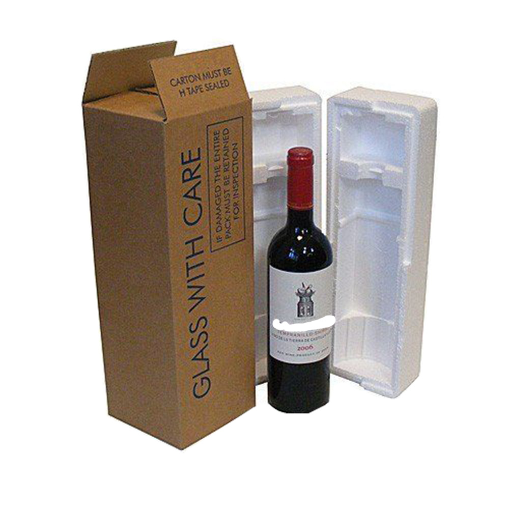 One Pack Paper Wine Box
