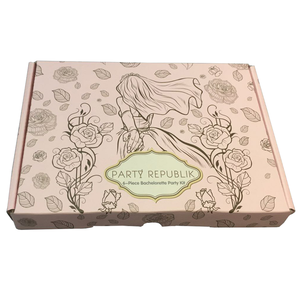 Notebook packaging box matte lamination