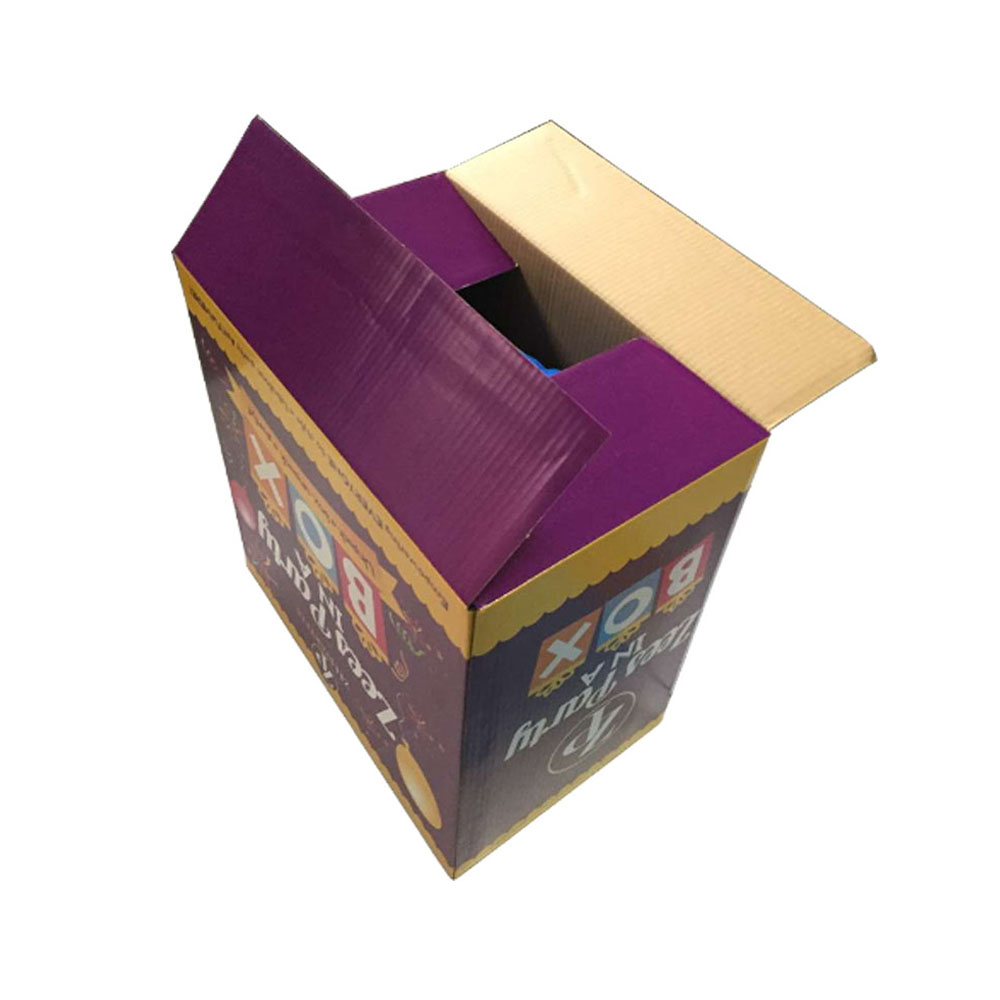 Wholesale double wall cardboard corrugated moving boxes