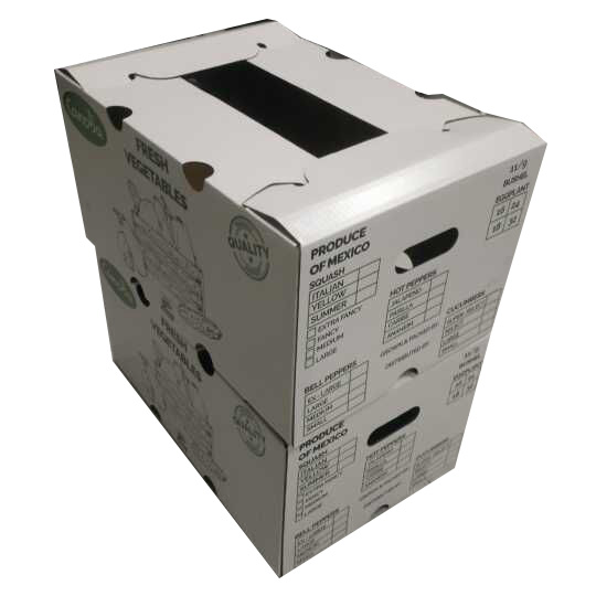 3-5 Layers Corrugated Vegetable Paper Packing Box