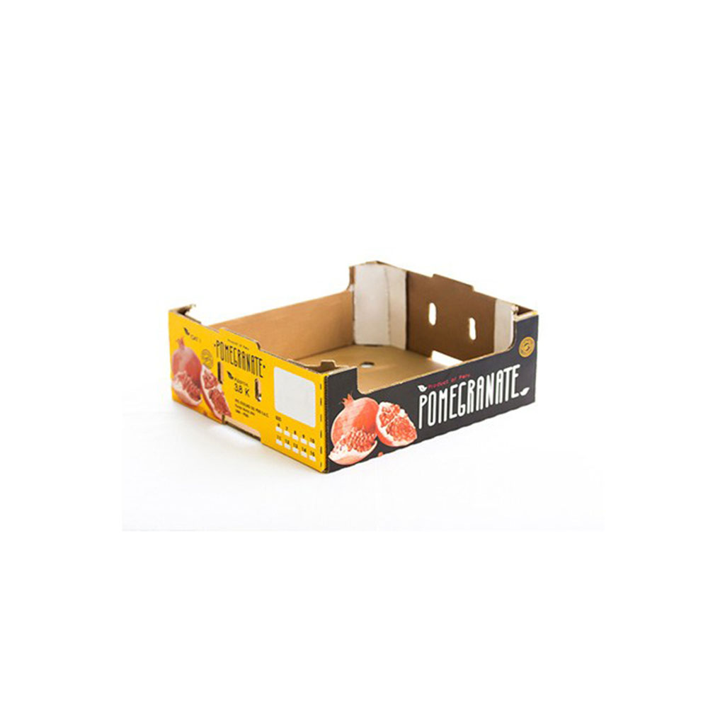 Corrugated Paper Fruit Packing Boxes grape