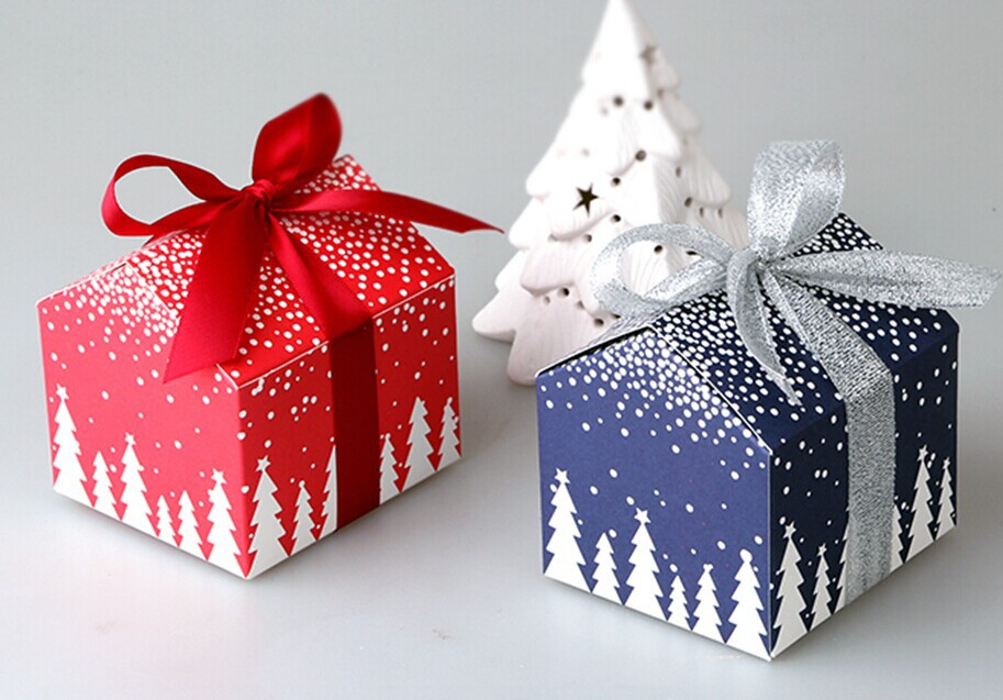 Fancy design Christmas gift box
