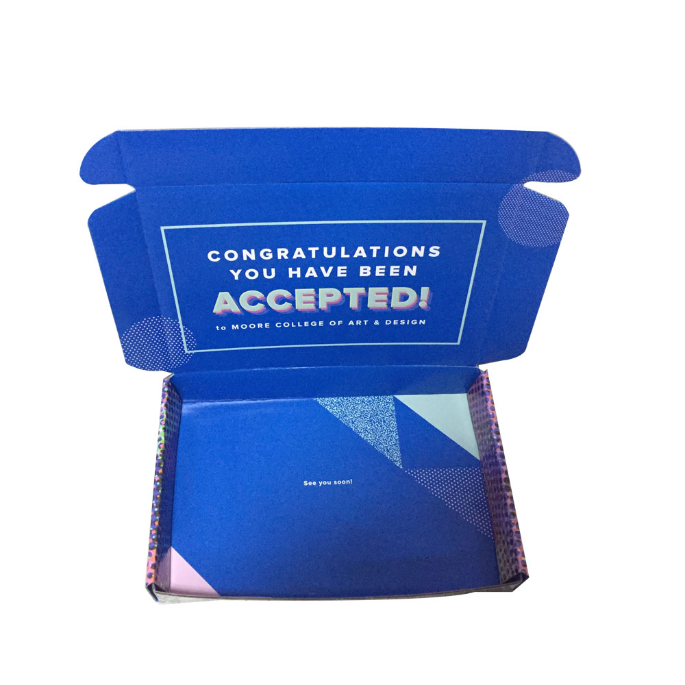 Colorful Printing Description Promotion Box for Gift Packing