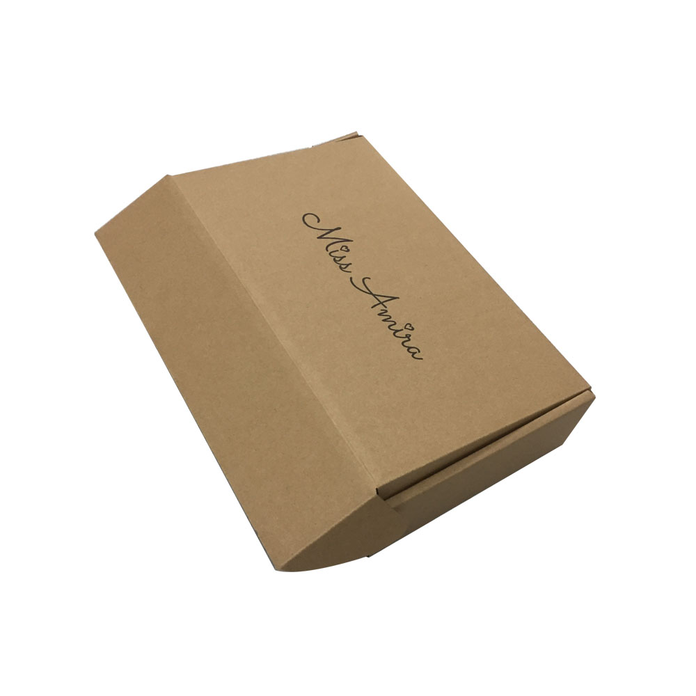 Reverse Roll End Tuck Top Corrugated Paper Gift Packing Box for Mailing