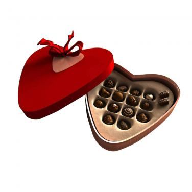 Heart-shaped Chocolate Box