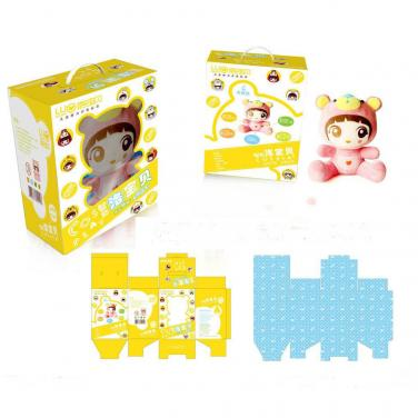 Custom Design Corrugated Toys Packing Boxes