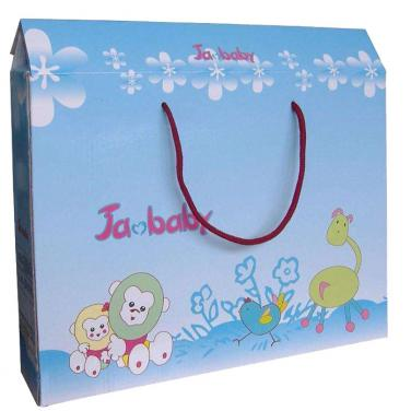 Fashion Style Toy Packing Box with Cotton Handles