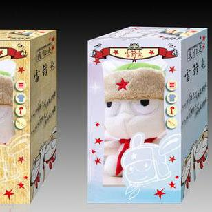 Lovely Design Paper Box for Dolls Gift Packaging