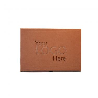 Kraft Paper Mobile Cell Phone Packaging Box with Hang Hole