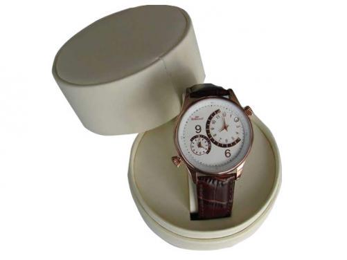 Round tube watch paper packing box