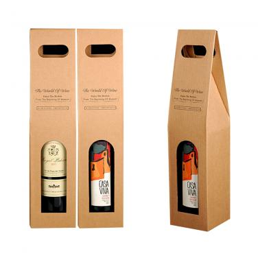 Custom Corrugated Wine Box