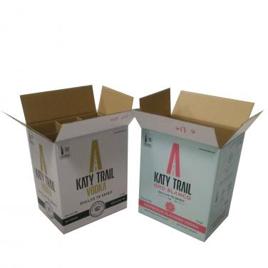 Strong Corrugated Beer Box With Inserts