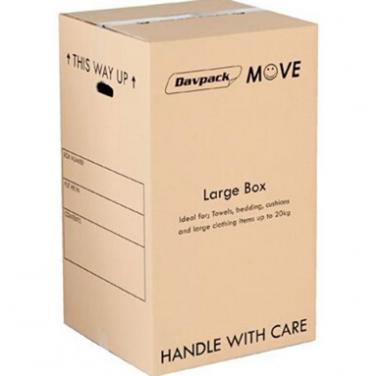 Custom Made Large Corrugated Refrigerator Cardboard Box