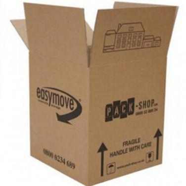 Custom Made Recyclable Large Corrugated Refrigerator Box