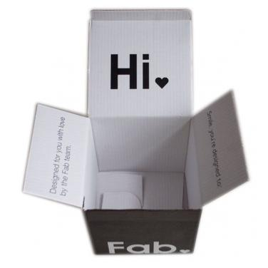 Factory price electronic cardboard packing box