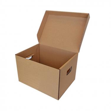 Plain brown archive box