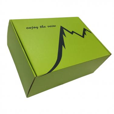 Fancy colorful notebook box for mailing
