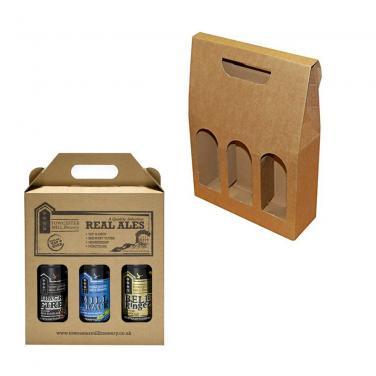 Corrugated Paper 3 Pack Box