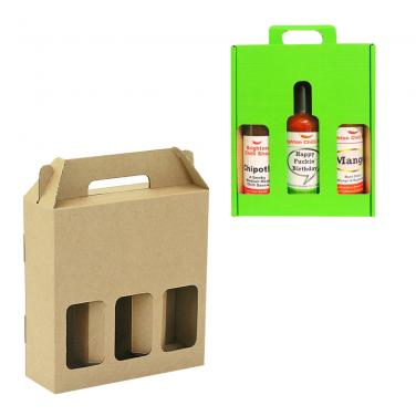 750ml Three Pack Packaging Box