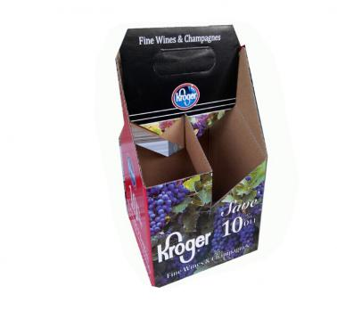 Four Pack Wine Box