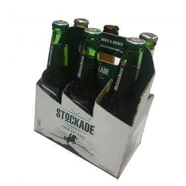 Cardboard Corrugated Carton Six Pack Beer Packaging Box