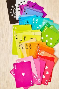 Custom colorful printing poker play card