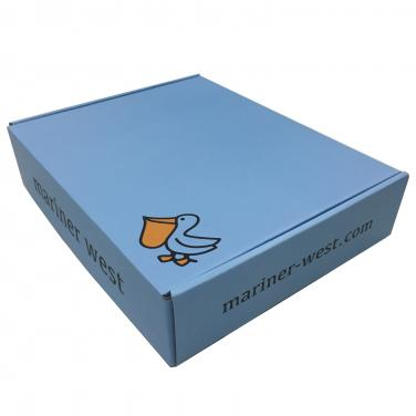 Light Blue Paper Packing Box