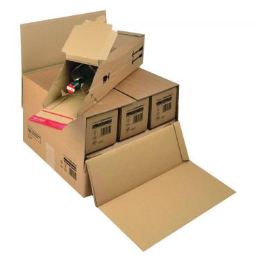 Corrugated 24 Bottles Box