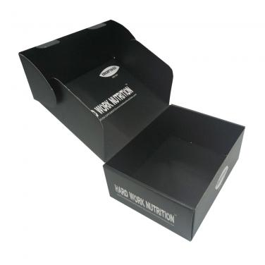 Tuck-Top Black Mailer Box
