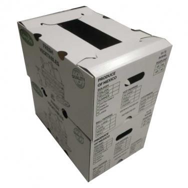 Custom Printed Vegetable Paper Box