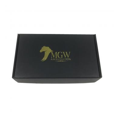 Custom printed cosmetic shipping boxes With Double Sides Printing