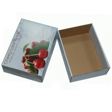 Cardboard 1-5 kg cherry packing box
