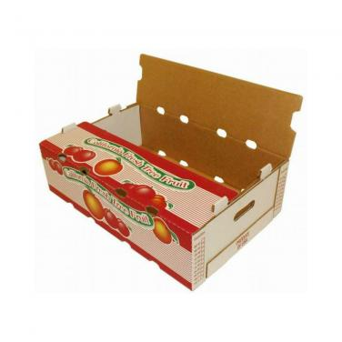 Custom Color Printed Banana Pineapple Fruit Box with Die-cutting Fresh Hole