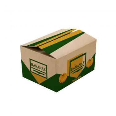 Shipping Corrugated Carton Box Banana Fruit Carton Box