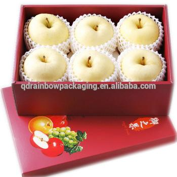 lid and base corrugated paper packing box