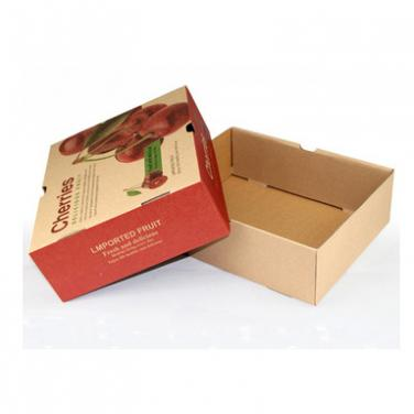 lid and base apple shipping box