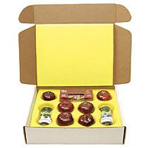 Custom apple packing box with divider