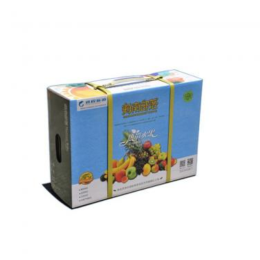 pineapple fruit corrugated packing paper box