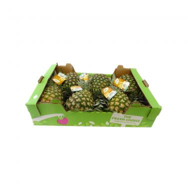 Fresh Pineapples Fruit Carton Packaging Box Wholesale