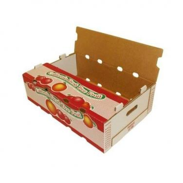 2KG 5KG 10KG custom printing color corrugated grapes packing boxes