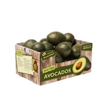 kraft corrugated paper custom colorful printing avocado box