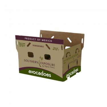 Custom avocado 5-ply carton box