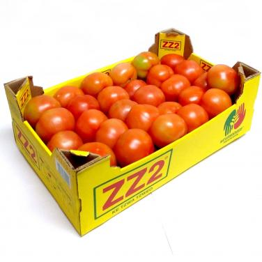Custom Made Recycle Corrugated Paper Tomato Box