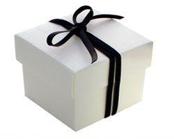 Lid and bottom rigid gift box