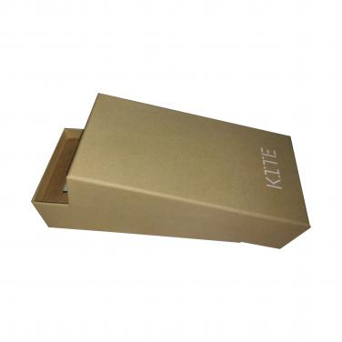 simple gift packing box with custom logo