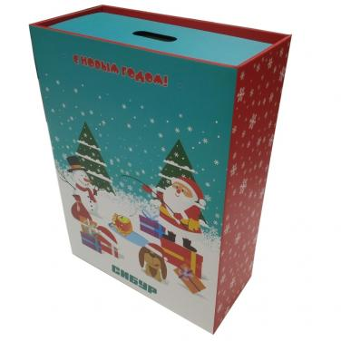 Corrugated drawer packing box for christmas