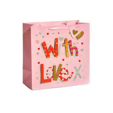 Custom Matte Colored Paper Bag For Gift Packaging